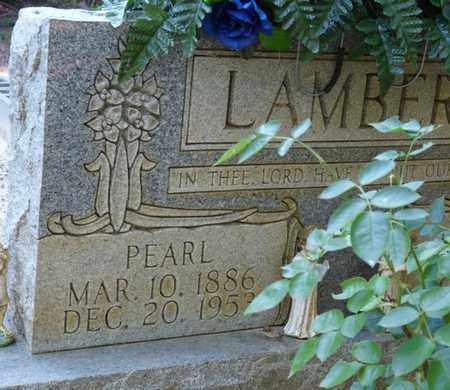 LAMBERT, PEARL - Tishomingo County, Mississippi | PEARL LAMBERT - Mississippi Gravestone Photos
