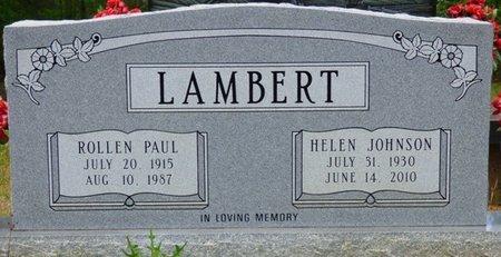 LAMBERT, HELEN - Tishomingo County, Mississippi | HELEN LAMBERT - Mississippi Gravestone Photos