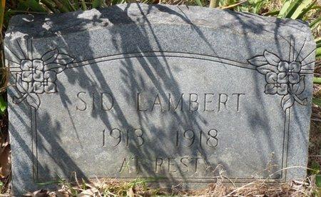 LAMBERT, SID - Tishomingo County, Mississippi | SID LAMBERT - Mississippi Gravestone Photos