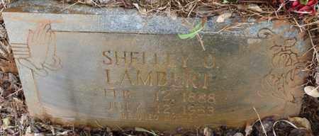 LAMBERT, SHELLEY O - Tishomingo County, Mississippi | SHELLEY O LAMBERT - Mississippi Gravestone Photos