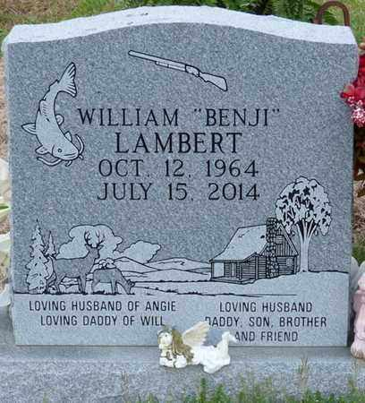 "LAMBERT, WILLIAM ""BENJI"" - Tishomingo County, Mississippi 