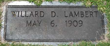 LAMBERT, WILLARD - Tishomingo County, Mississippi | WILLARD LAMBERT - Mississippi Gravestone Photos