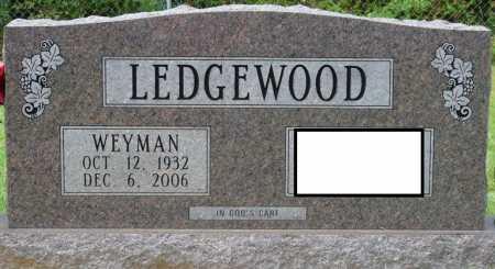 LEDGEWOOD, WEYMAN B - Tishomingo County, Mississippi | WEYMAN B LEDGEWOOD - Mississippi Gravestone Photos
