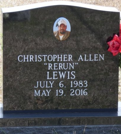 "LEWIS, CHRISTOPHER ALLEN ""RERUN"" - Tishomingo County, Mississippi | CHRISTOPHER ALLEN ""RERUN"" LEWIS - Mississippi Gravestone Photos"
