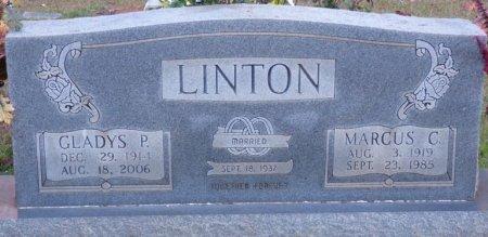 PANNELL LINTON, GLADYS - Tishomingo County, Mississippi | GLADYS PANNELL LINTON - Mississippi Gravestone Photos