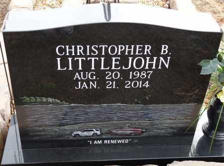 LITTLEJOHN, CHRISTOPHER B - Tishomingo County, Mississippi   CHRISTOPHER B LITTLEJOHN - Mississippi Gravestone Photos