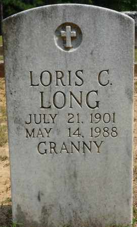 LONG, LORIS C - Tishomingo County, Mississippi | LORIS C LONG - Mississippi Gravestone Photos