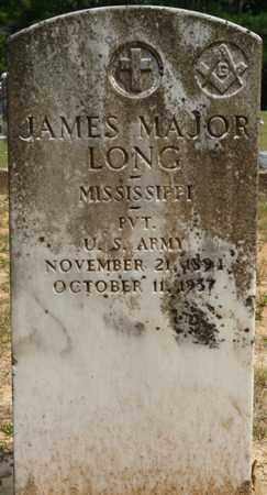 LONG (VETERAN), JAMES MAJOR - Tishomingo County, Mississippi | JAMES MAJOR LONG (VETERAN) - Mississippi Gravestone Photos