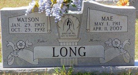 LONG, MAE - Tishomingo County, Mississippi | MAE LONG - Mississippi Gravestone Photos