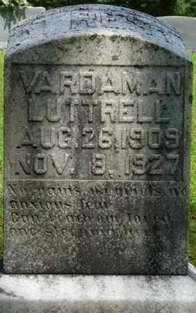 LUTTRELL, VARDAMAN - Tishomingo County, Mississippi   VARDAMAN LUTTRELL - Mississippi Gravestone Photos