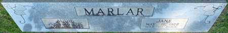 MARLAR, AUDIE - Tishomingo County, Mississippi | AUDIE MARLAR - Mississippi Gravestone Photos
