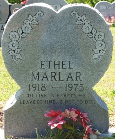 MARLAR, ETHEL FRANCIS - Tishomingo County, Mississippi   ETHEL FRANCIS MARLAR - Mississippi Gravestone Photos