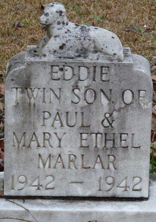 MARLAR, EDDIE - Tishomingo County, Mississippi   EDDIE MARLAR - Mississippi Gravestone Photos
