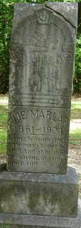 MARLAR, JOSEPH - Tishomingo County, Mississippi | JOSEPH MARLAR - Mississippi Gravestone Photos