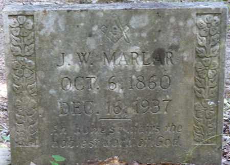 MARLAR, J.W. - Tishomingo County, Mississippi   J.W. MARLAR - Mississippi Gravestone Photos