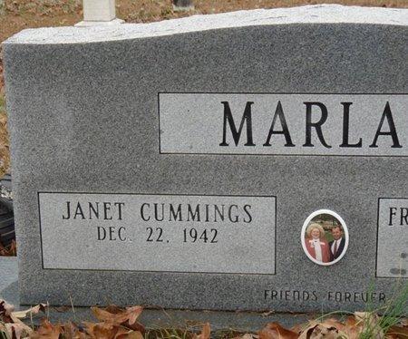 MARLAR, JANET - Tishomingo County, Mississippi   JANET MARLAR - Mississippi Gravestone Photos