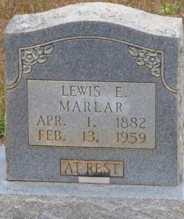 MARLAR, LEWIS E - Tishomingo County, Mississippi | LEWIS E MARLAR - Mississippi Gravestone Photos