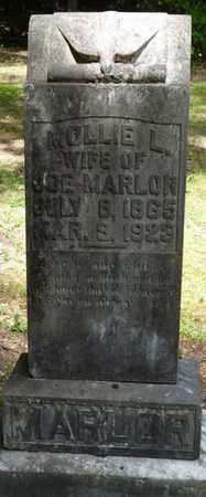 MARLAR, MOLLIE L - Tishomingo County, Mississippi | MOLLIE L MARLAR - Mississippi Gravestone Photos