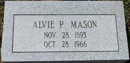 MASON, ALVIE P - Tishomingo County, Mississippi   ALVIE P MASON - Mississippi Gravestone Photos