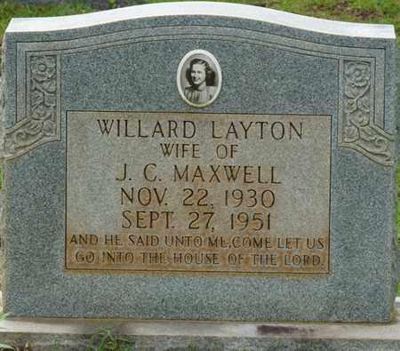 MAXWELL, WILLIARD - Tishomingo County, Mississippi | WILLIARD MAXWELL - Mississippi Gravestone Photos