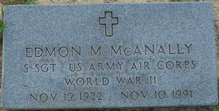 MCANNALLY (VETERAN WWII), EDMON M - Tishomingo County, Mississippi | EDMON M MCANNALLY (VETERAN WWII) - Mississippi Gravestone Photos