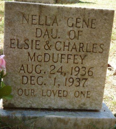 MCDUFFY, NELLA GENE - Tishomingo County, Mississippi | NELLA GENE MCDUFFY - Mississippi Gravestone Photos