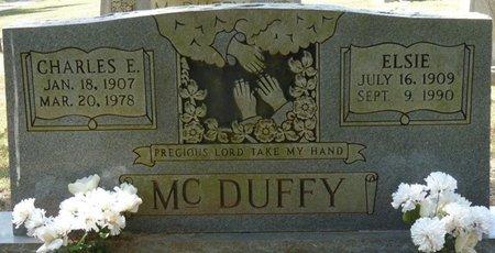 MCDUFFY, CHARLES E - Tishomingo County, Mississippi | CHARLES E MCDUFFY - Mississippi Gravestone Photos