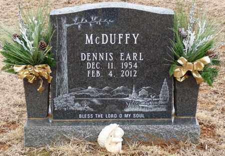 MCDUFFY, DENNIS EARL - Tishomingo County, Mississippi | DENNIS EARL MCDUFFY - Mississippi Gravestone Photos