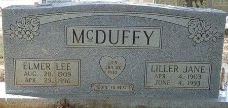 MCDUFFY, ELMER LEE - Tishomingo County, Mississippi | ELMER LEE MCDUFFY - Mississippi Gravestone Photos