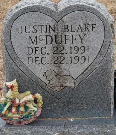 MCDUFFY, JUSTIN BLAKE - Tishomingo County, Mississippi   JUSTIN BLAKE MCDUFFY - Mississippi Gravestone Photos