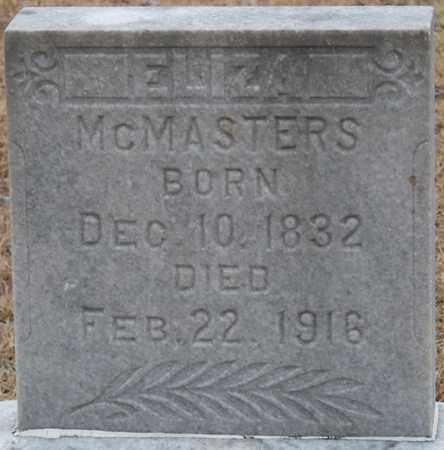 MCMASTERS, ELIZA - Tishomingo County, Mississippi | ELIZA MCMASTERS - Mississippi Gravestone Photos