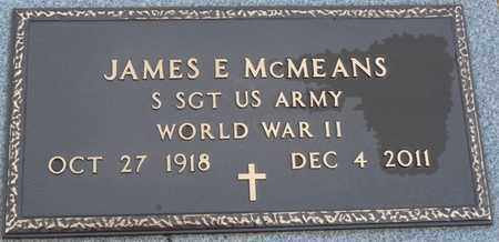 MCMEANS (VETERAN WWII), JAMES E - Tishomingo County, Mississippi | JAMES E MCMEANS (VETERAN WWII) - Mississippi Gravestone Photos