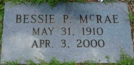 MCRAE, BESSIE P - Tishomingo County, Mississippi   BESSIE P MCRAE - Mississippi Gravestone Photos