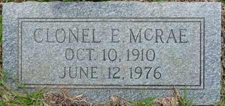 MCRAE, CLONEL E - Tishomingo County, Mississippi | CLONEL E MCRAE - Mississippi Gravestone Photos