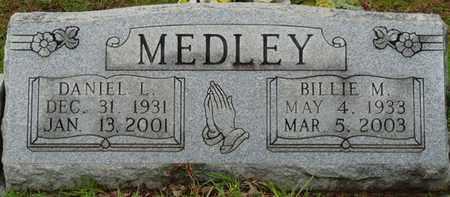 MEDLEY, BILLIE M - Tishomingo County, Mississippi | BILLIE M MEDLEY - Mississippi Gravestone Photos