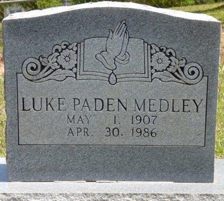 MEDLEY, LUKE PADEN - Tishomingo County, Mississippi | LUKE PADEN MEDLEY - Mississippi Gravestone Photos