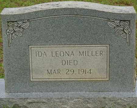 MILLER, IDA LEONA - Tishomingo County, Mississippi   IDA LEONA MILLER - Mississippi Gravestone Photos