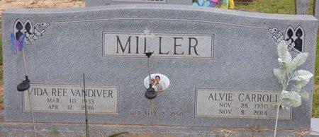 MILLER, ALVIE CARROLL - Tishomingo County, Mississippi | ALVIE CARROLL MILLER - Mississippi Gravestone Photos