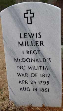 MILLER (VETERAN WAR OF 1812), LEWIS - Tishomingo County, Mississippi | LEWIS MILLER (VETERAN WAR OF 1812) - Mississippi Gravestone Photos