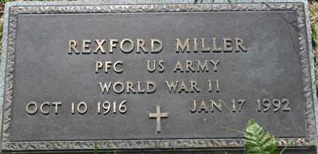 MILLER (VETERAN WWII), REXFORD - Tishomingo County, Mississippi | REXFORD MILLER (VETERAN WWII) - Mississippi Gravestone Photos
