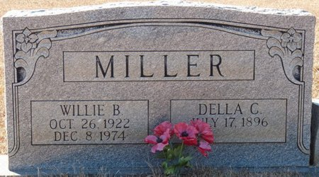 MILLER, WILLIE B - Tishomingo County, Mississippi | WILLIE B MILLER - Mississippi Gravestone Photos