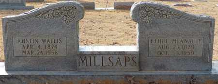 MILLSAPS, AUSTIN WALLIS - Tishomingo County, Mississippi | AUSTIN WALLIS MILLSAPS - Mississippi Gravestone Photos