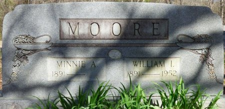 BROWN MOORE, MINNIE A - Tishomingo County, Mississippi | MINNIE A BROWN MOORE - Mississippi Gravestone Photos