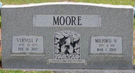 MOORE, WILLIAM MILFORD - Tishomingo County, Mississippi   WILLIAM MILFORD MOORE - Mississippi Gravestone Photos