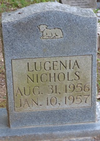 NICHOLS, LUGENIA - Tishomingo County, Mississippi   LUGENIA NICHOLS - Mississippi Gravestone Photos