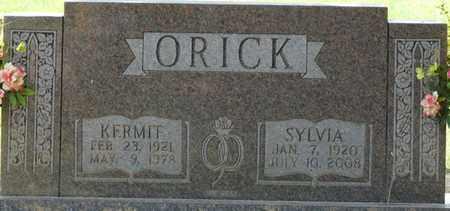 ORICK, KERMIT - Tishomingo County, Mississippi | KERMIT ORICK - Mississippi Gravestone Photos