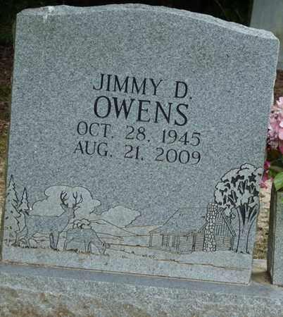 OWENS, JIMMY D - Tishomingo County, Mississippi | JIMMY D OWENS - Mississippi Gravestone Photos