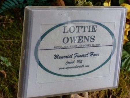OWENS, LOTTIE - Tishomingo County, Mississippi   LOTTIE OWENS - Mississippi Gravestone Photos