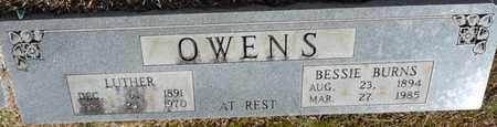 OWENS, LUTHER - Tishomingo County, Mississippi | LUTHER OWENS - Mississippi Gravestone Photos