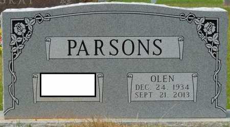 PARSONS, OLEN - Tishomingo County, Mississippi | OLEN PARSONS - Mississippi Gravestone Photos